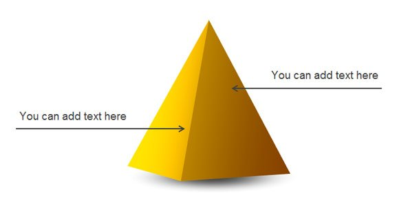 create a simple 3d pyramid in powerpoint 2010, Powerpoint templates