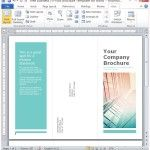 Beautifully Designed Tri-Fold Brochure Template