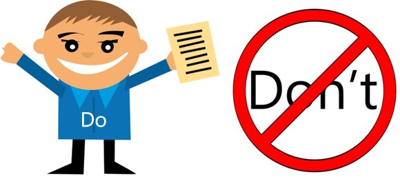 Giving Seminar Presentations: Do's And Don'ts
