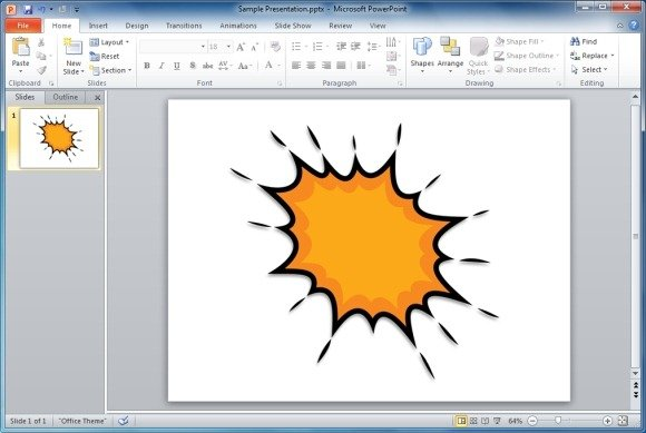 Useful bubbles shapes for powerpoint presentations splat point expression toneelgroepblik Gallery
