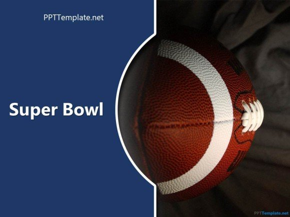 Free Super Bowl PowerPoint Template background