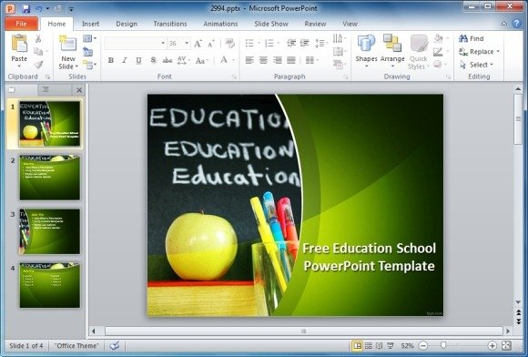 Best educational powerpoint templates education school powerpoint template toneelgroepblik Image collections