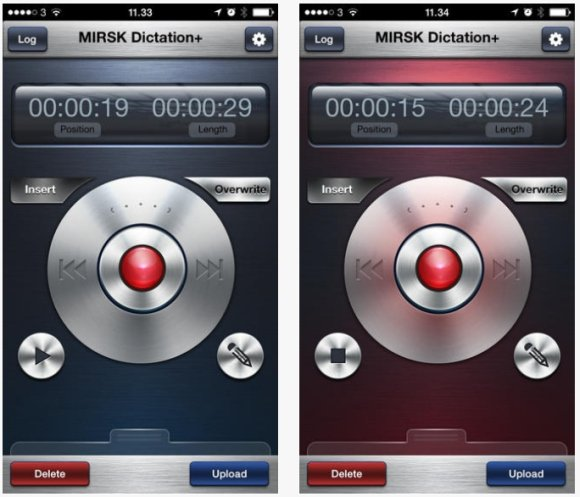 MIRSK Dictation Plus For iPhone