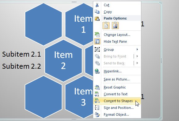 How to make a honeycomb diagram in powerpoint ccuart Gallery