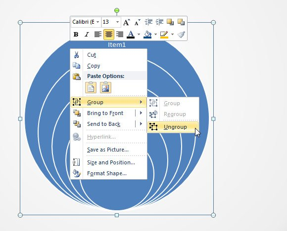 How To Create Concentric Circles In Powerpoint