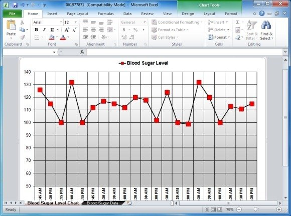 photograph relating to Printable Blood Sugar Log called Blood Sugar Tracker Template For Excel