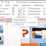 Compress pictures in powerpoint 2013 to reduce presentation file size toneelgroepblik Gallery