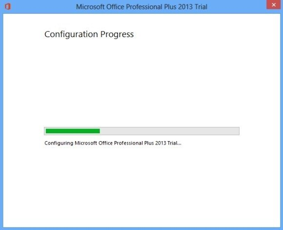 Configuring Office 2013