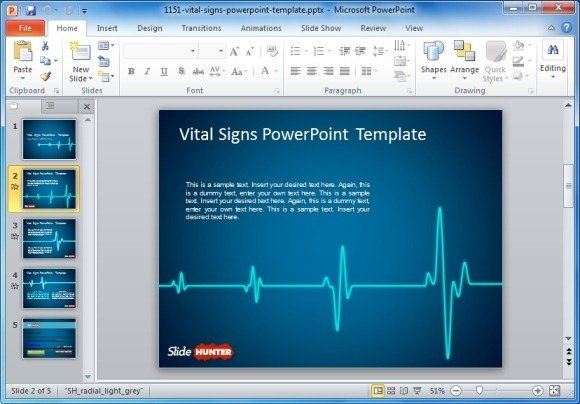 Top premium free animated heart rate powerpoint templates free animated vital signs powerpoint template toneelgroepblik Images