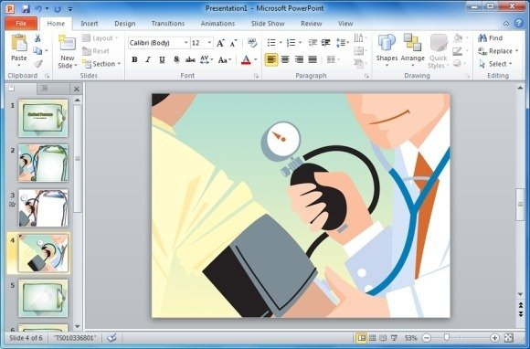 Blood pressure design template for powerpoint medical pressure design template for powerpoint toneelgroepblik Image collections