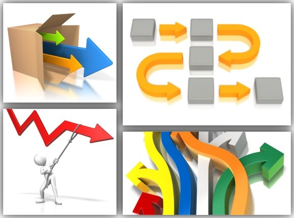 Powerpoint arrow templates and clipart for presentations toneelgroepblik Choice Image