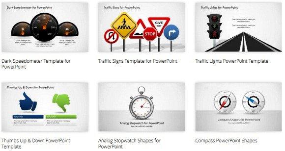 PowerPoint Shape Templates