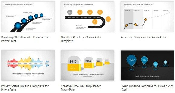 Impressive powerpoint template designs that will blow you away powerpoint templates for making timelines maxwellsz