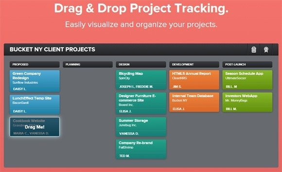 tracking projects