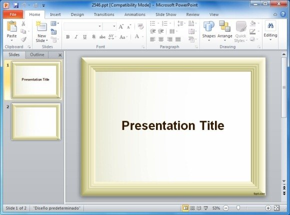 Page borders for powerpoint presentations simple photo frame powerpoint template border powerpoint template toneelgroepblik Gallery