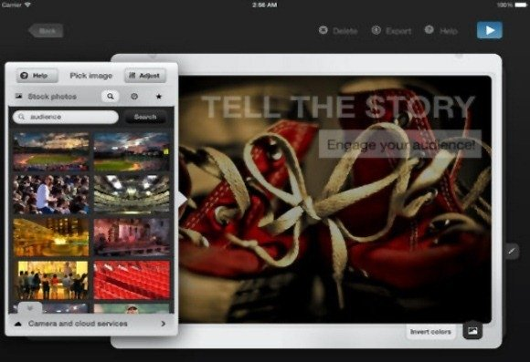 SlidePocket App For iPad