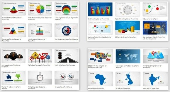 Impressive PowerPoint Template Designs That Will Blow You Away - Awesome replace powerpoint template concept