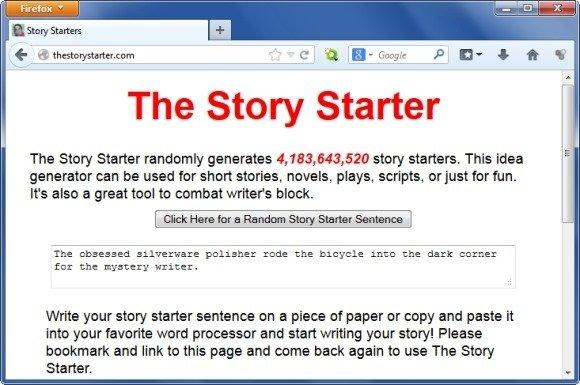 TheStorystarter Tool