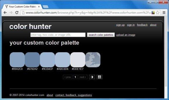 Your Custom Color Palette