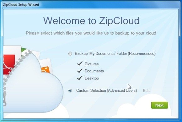 Zip Cloud Settings