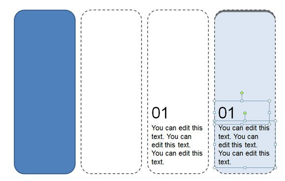 How to make a printable bookmark template for powerpoint for Bookmarkers template