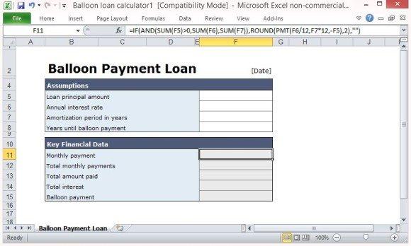 Automatically Compute Loan Data