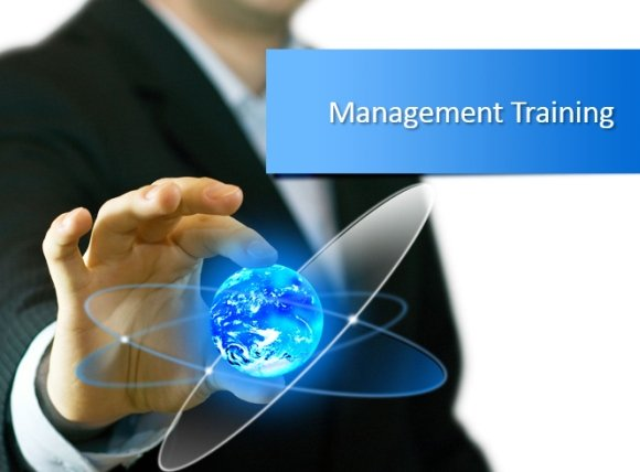can management training benefit an organization?, Modern powerpoint