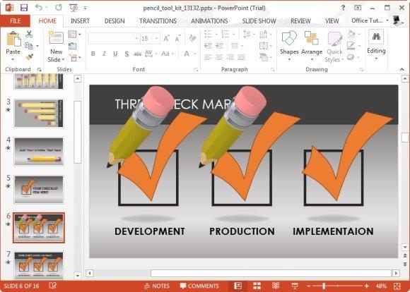 Checklist Slides for PowerPoint
