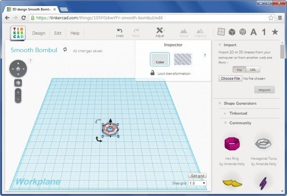 Drag and Drop Shapes to Create 3D Models