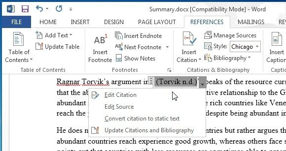 To add citations and references in microsoft word documents edit citation in ms word saigontimesfo