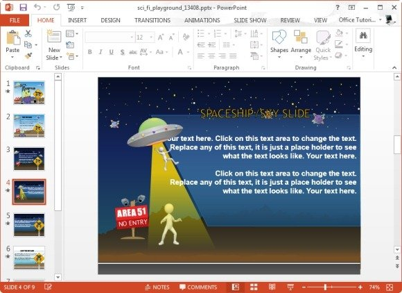 Best story map templates for powerpoint sci fi powerpoint template toneelgroepblik Gallery
