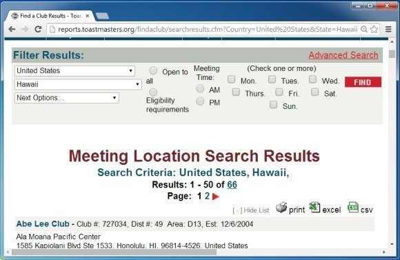 search a toastmasters club near you