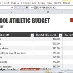 Create a Budget for Your Schools Athletic Program
