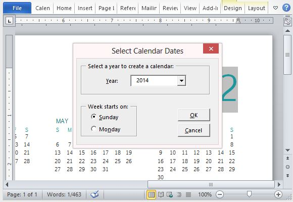 Select Any Year You Want for Your Calendar