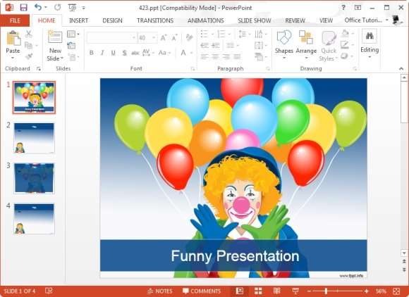 how to add humor to a presentation