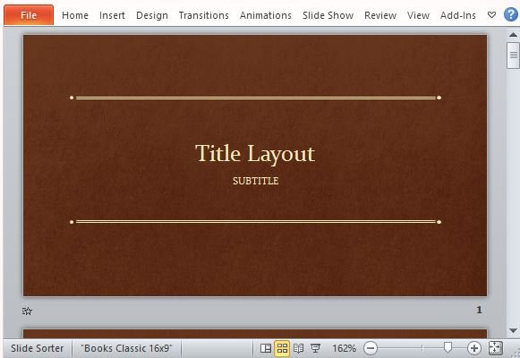 classic book template for powerpoint, Presentation templates