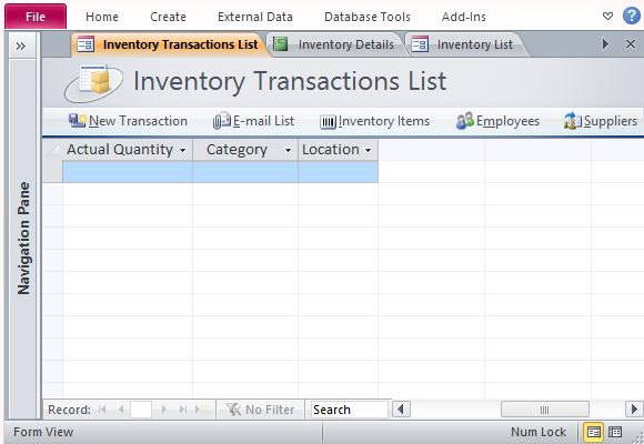 Create A Reliable And Comprehensive Inventory Management System. The Free  Inventory Management Template ...