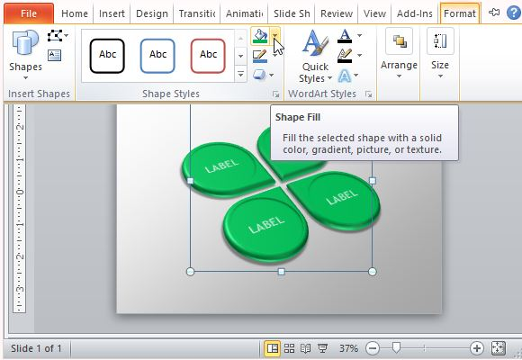 Easily Customize the Graphic Slide