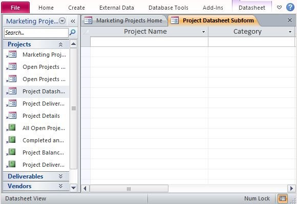 managing multiple projects template - desktop marketing project management database template for