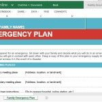 Family Emergency Plan for Disasters and Emergencies