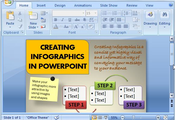 How to create infographics using powerpoint toneelgroepblik Choice Image