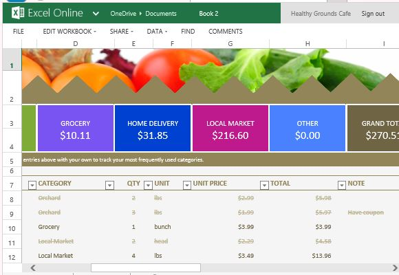 List And Price Comparison Template For Excel Online