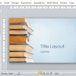Visually Appealing Template for Book, Publishing and Literary Presentations