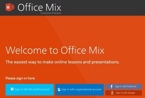 download office mix add-in