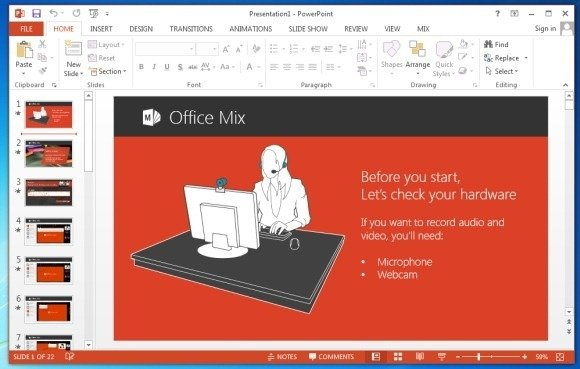 office mix helpful tutorial
