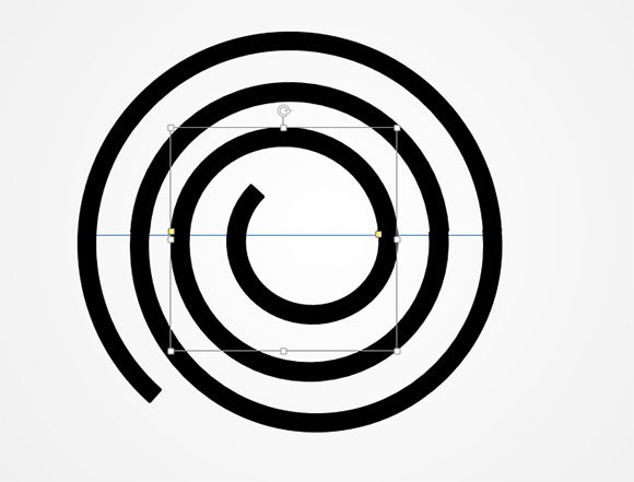 how to make a spiral diagram in powerpoint