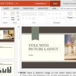Academic Themed PowerPoint Templates for Widescreen Formats