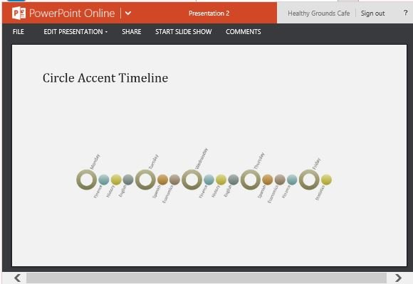 Event Timeline Diagram Template For Powerpoint Online