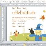 Fall Event Flyer and Invitation Template