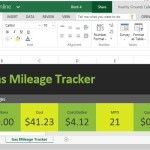 Keep Track of Your Gas Mileage Using This Excel Online Template